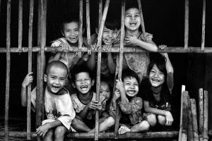 Temasek Photo Circuit Merit Award - Zaw Min (Myanmar) <br /> Happy Kids