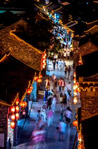 Temasek Photo Circuit Merit Award - Jinming Pan (China)  Dongguan Street Night 2