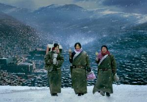 Temasek Photo Circuit Merit Award - Baoyi Huang (China)  Pilgrims