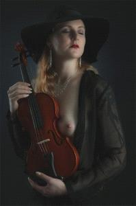 Temasek Photo Circuit Bronze Medal - Jan-Thomas Stake (Sweden) <br /> Jenny And Violin