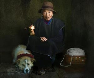 IUP Honor Mention - Xiaoxi Liao (China)  Lonely Old Lady