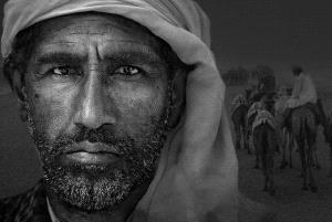 Temasek Photo Circuit Merit Award - Xiaoxi Liao (China)  Man In Desert