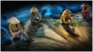 Temasek Photo Circuit Bronze Medal - Yan Tsang (USA)  Making Fishing Net 3