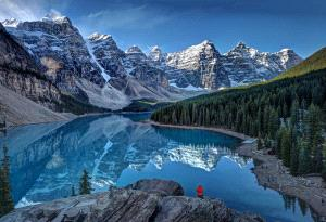 Temasek Photo Circuit Silver Medal - Peter Hammer (Australia)  Moraine Lake