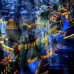 Temasek Photo Circuit Merit Award - Jing Lai (China)  The Ancient Town Of Love