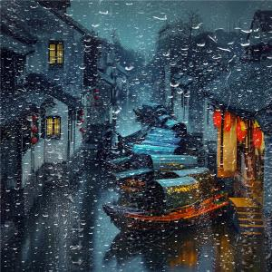 Temasek Photo Circuit Merit Award - Ruiyuan Chen (China)  Rain In  Jiangnan