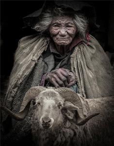 PSA HM Ribbons - Weihua Huang (China) <br /> Grandmother And Sheep