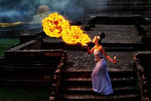 Temasek Photo Circuit Merit Award - Foo Say Boon (Malaysia)  Fire Lady
