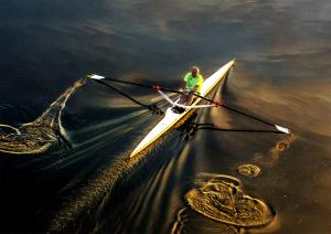 IUP Honor Mention - Hung Kam Yuen (Australia)  Row Across The Golden Sky 3