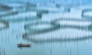 PhotoVivo Honor Mention - Cong Chi (China) <br /> Sea Ploughing 1