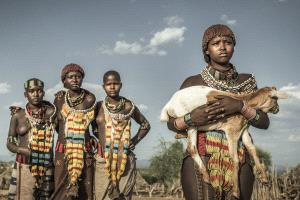 PhotoVivo Gold Medal - Beimeng Liu (China) <br /> African Tribal People 2