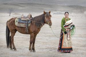 TPC Silver Medal - Tan Tong Toon (Malaysia)  Horse Lady