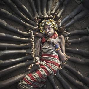 TPC Gold Medal - Huifang Wu (China)  The Tribal Beauty1