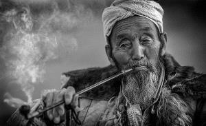 TPC Merit Award - Wendy Wai Man Lam (Hong Kong)  Village Old Folk Bw