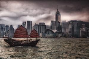 TPC Bronze Medal - Cyril Kwok Keung Leung (Hong Kong)  Sailing Boat