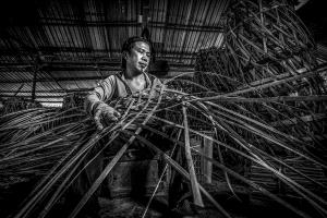 APAS Honor Mention - Yee Wei Tan (Malaysia) <br /> Basket Maker 2 B &amp;W