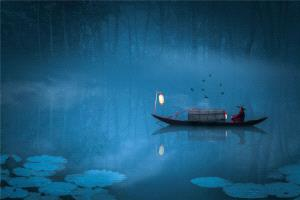 TPC Merit Award - Yibin Zhu (China)  Lonesome Boat