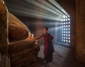 APAS Bronze Medal - Yury Pustovoy (Russian Federation) <br /> Children Of Buddha