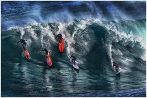 TPC Merit Award - Thomas Lang (USA)  Hawaii Surfers