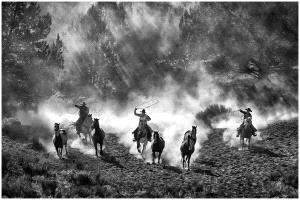 TPC Silver Medal - Thomas Lang (USA)  Old West Impression Bw